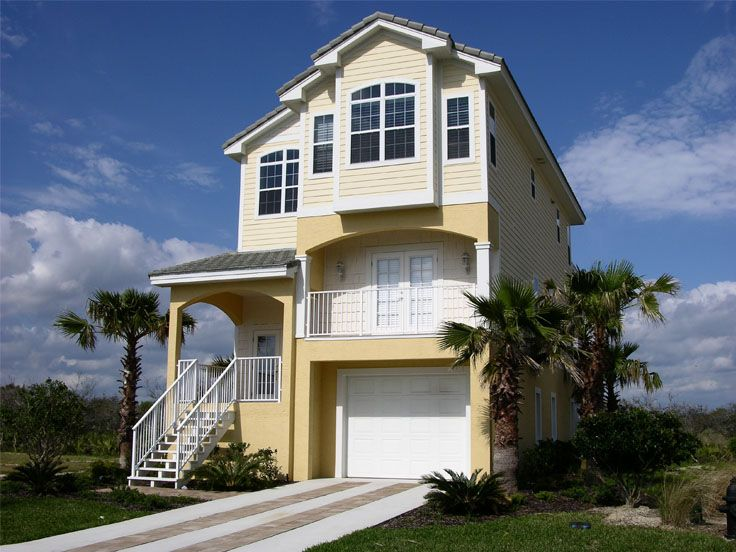 Plan 041h 0003 find unique house plans home plans and for Beach house plans on pylons