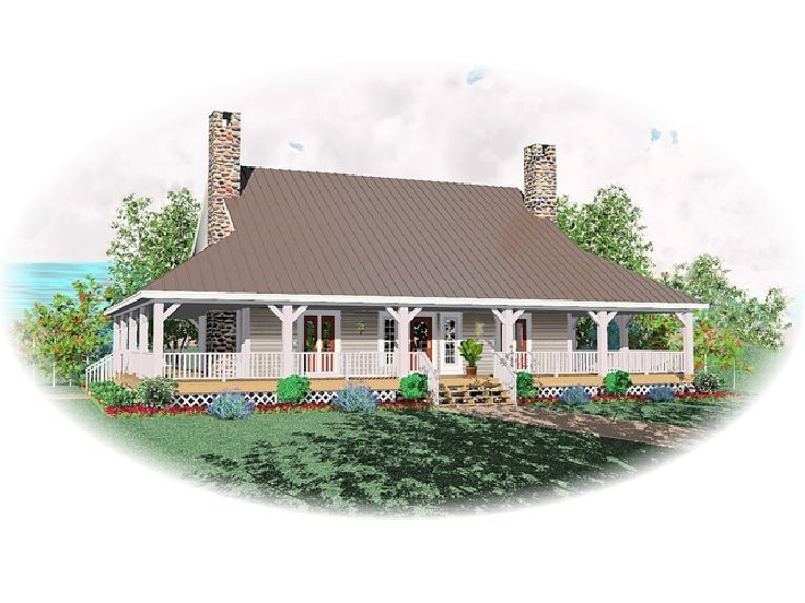 Country House Plan, 006H-0068