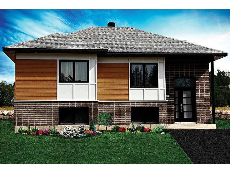 Contemporary House Plan Photo, 027H-0327