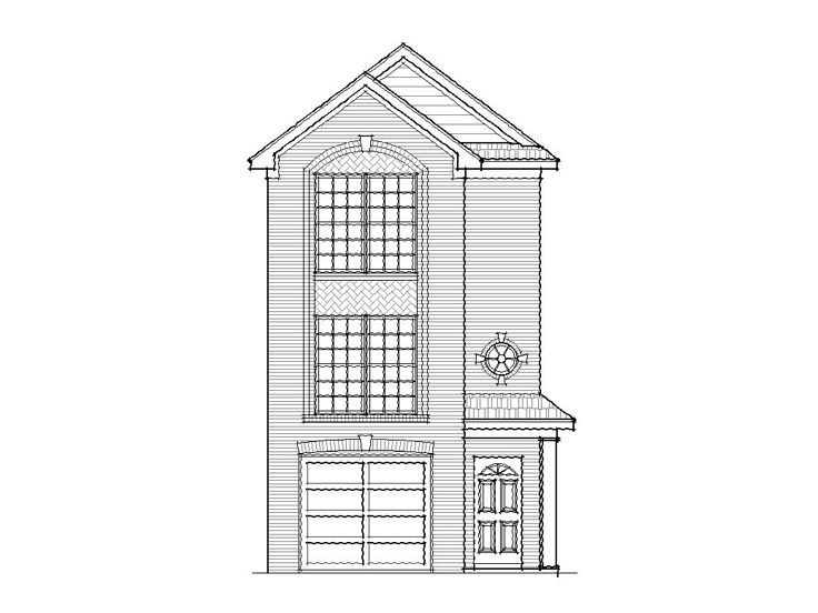 Row House Plan, 061H-0012