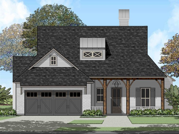 One-Story House Plan, 079H-0022