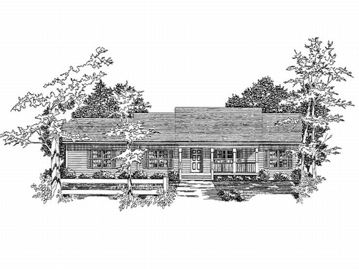 1-Story House Plan, 019H-0113
