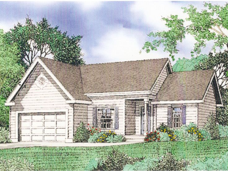 Traditional House Plan, 009H-0044
