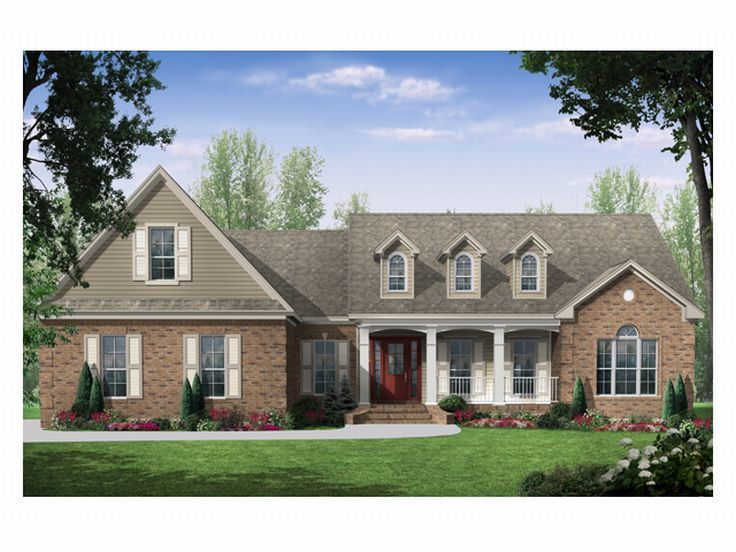 Country House Plan, 001H-0075