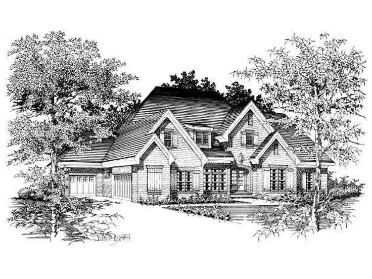 Luxury House Plan, 061H-0106
