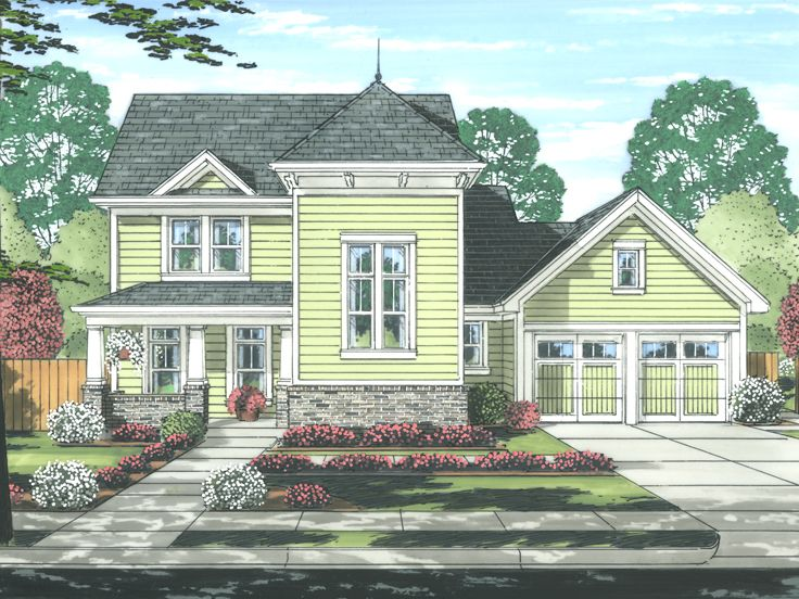 2-Story House Plan, 046H-0118