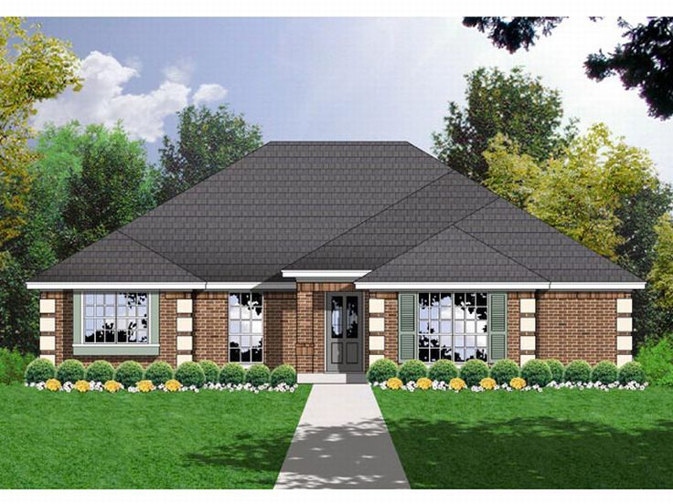 Small Home Plan, 015H-0027