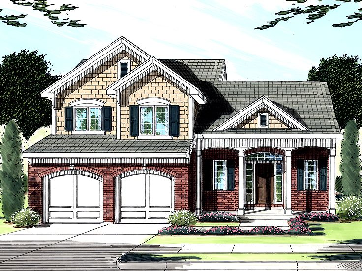 2-Story House Plan, 046H-0039
