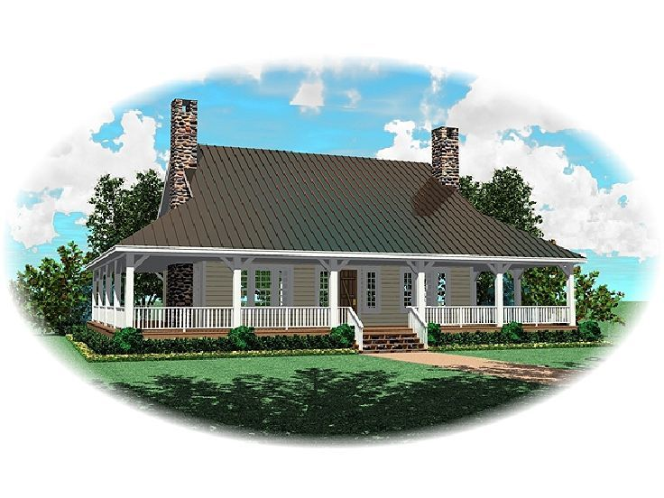 Country Home Plan, 006H-0074