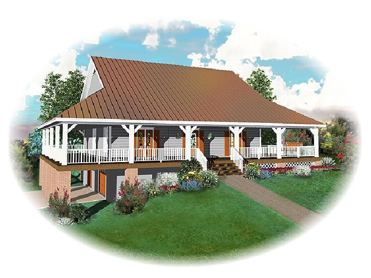 Country House Design, 006H-0058