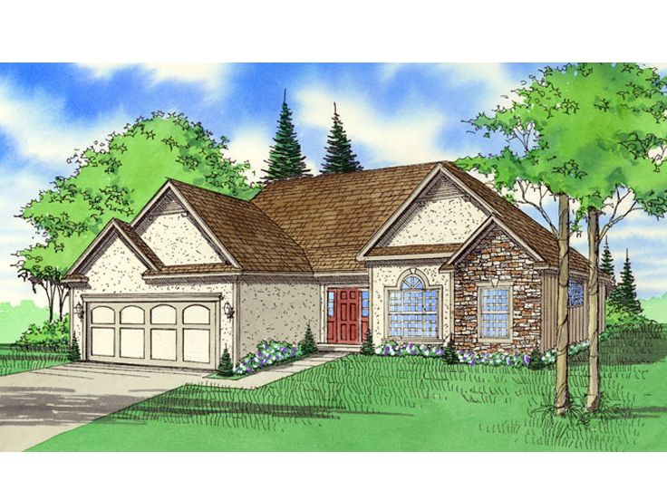 1-Story House Plan, 009H-0013