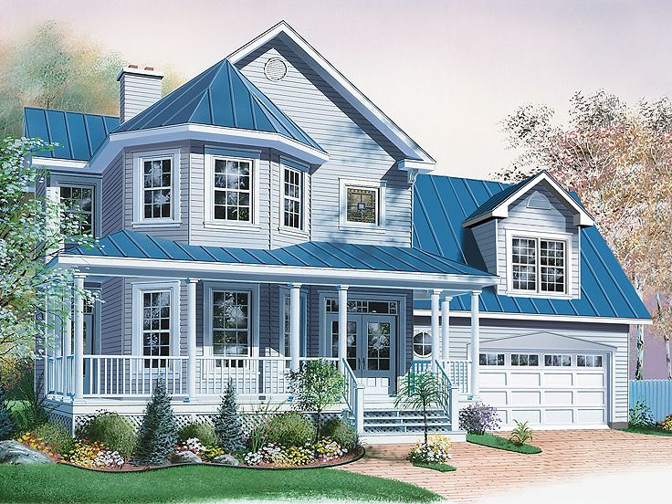 Country Victorian House, 027H-0205