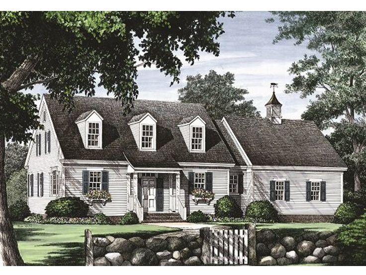 Plan 063h 0046 find unique house plans home plans and for Large cape cod house plans