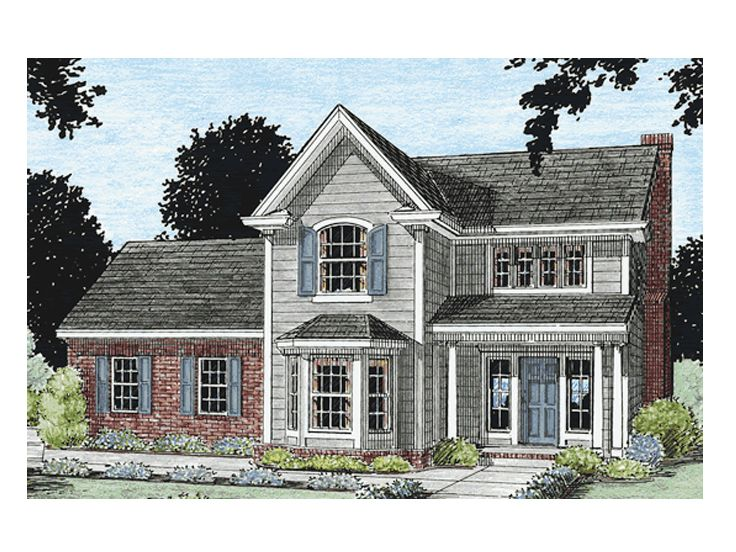 Affordable House Plan, 059H-0040