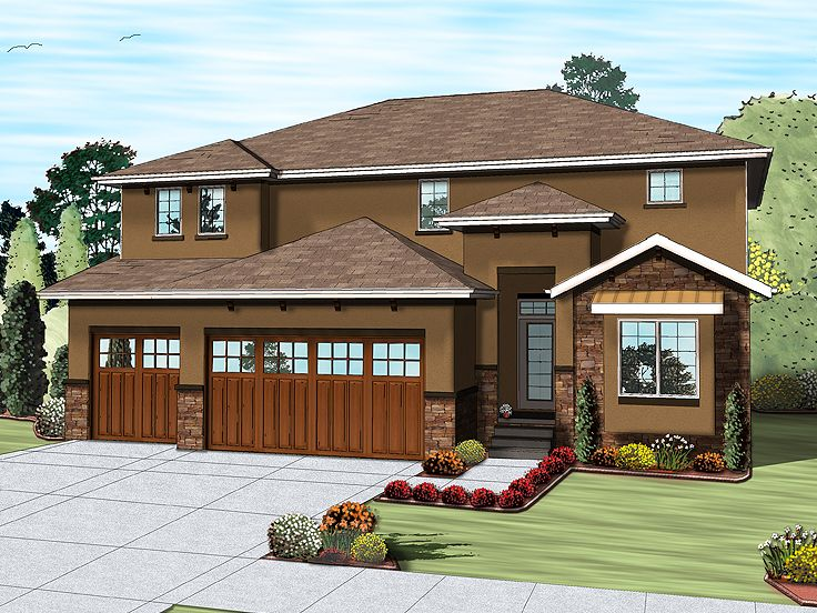 One-Story House Plan, 050H-0101