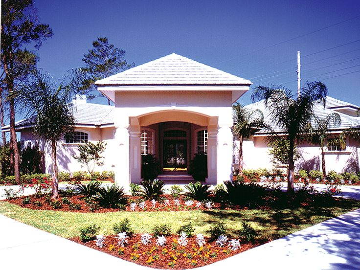 Florida Home Plan Photo, 043H-0171
