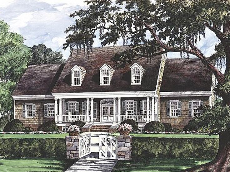 Southern Home Design, 063H-0016