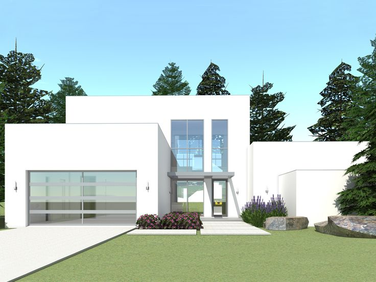 Contemporary House Plan, 052H-0079