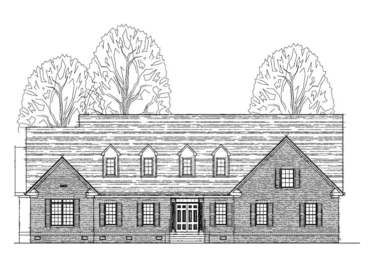 Family House Plan, 058H-0073