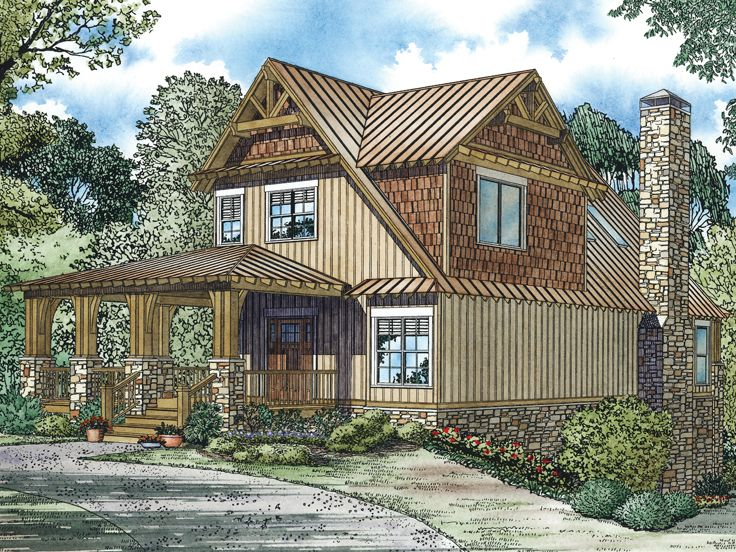 Country House Plan, 025H-0258