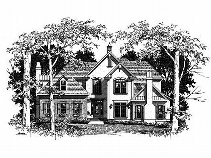European House Design, 030H-0075