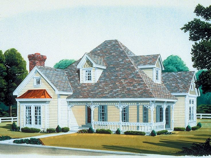 Country Home Plan, 054H-0033