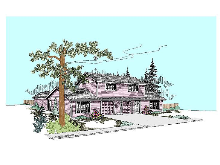 Multi-Family House Plan, 013M-0013