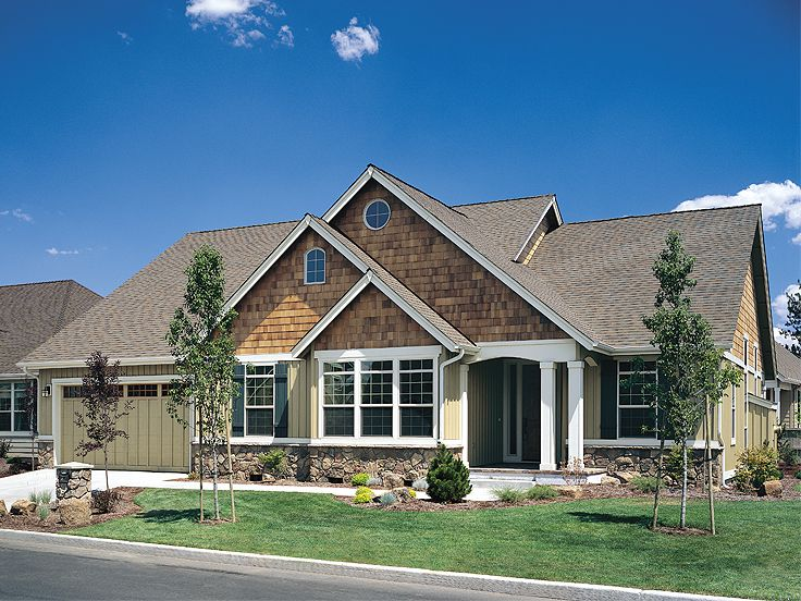 One-Story Home Plan, 034H-0009