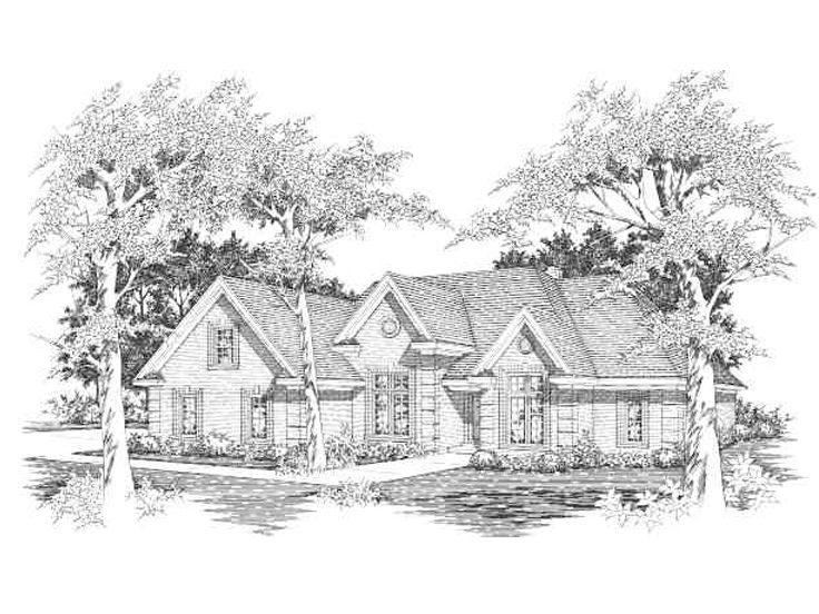 Family House Plan, 061H-0094