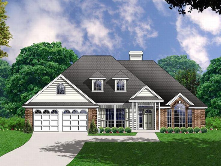 Affordable Home Plan, 015H-0051