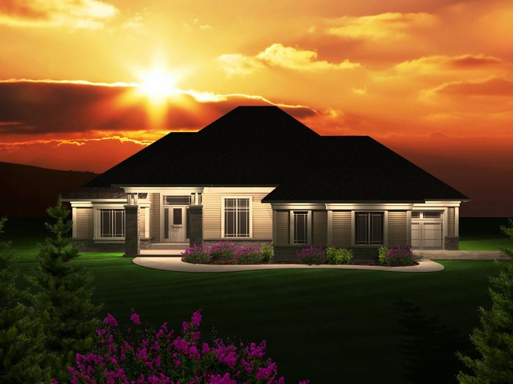 Traditional House Plan, 020H-0318