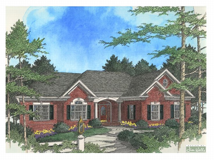 Traditional House Plan, 007H-0068