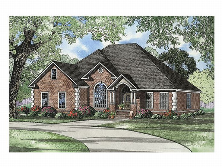1-Story Home Plan, 025H-0134