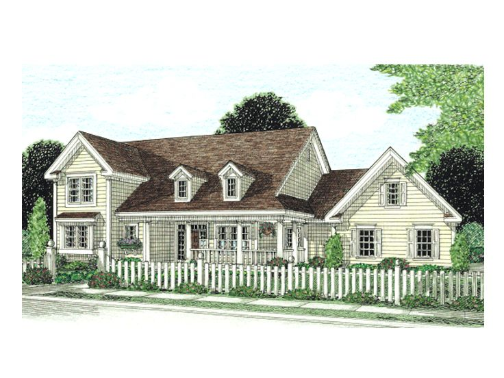 Country House Design, 059H-0066