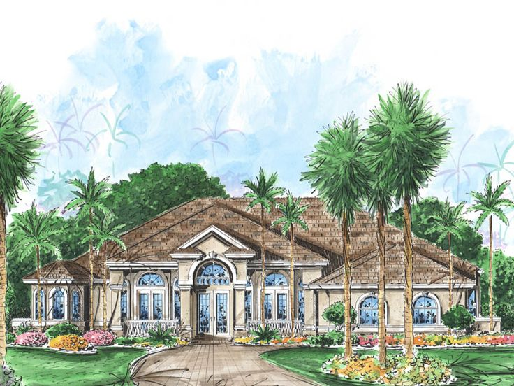 Luxury House Plan, 037H-0149