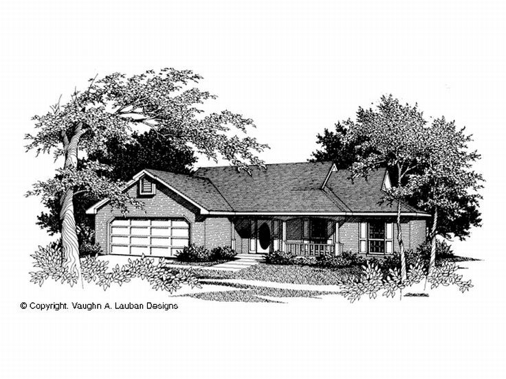 Traditional Home Plan, 004H-0013