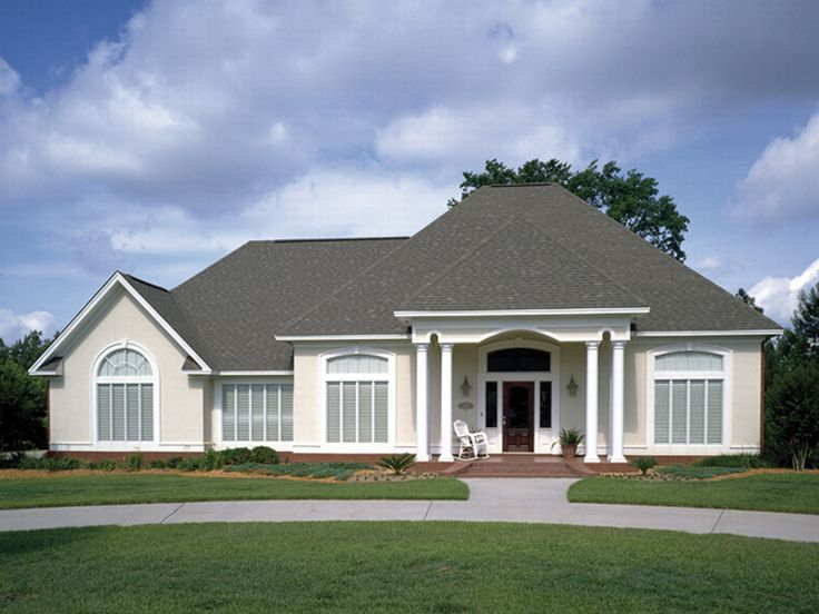 Sunbelt Home Plan, 021H-0076