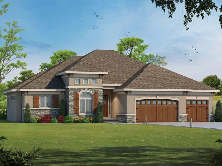 Ranch House Plan, 031H-0258