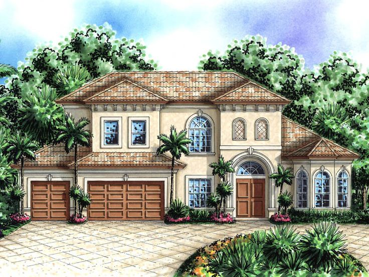 Two-Story Home Plan, 037H-0129