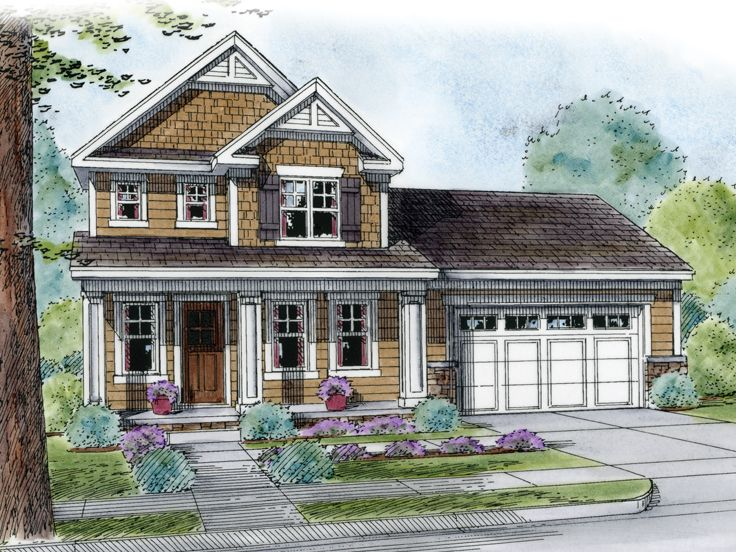 Country House Design, 031H-0253