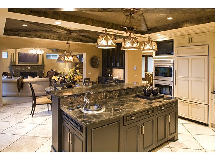 Kitchen Island Photo, 007H-0129