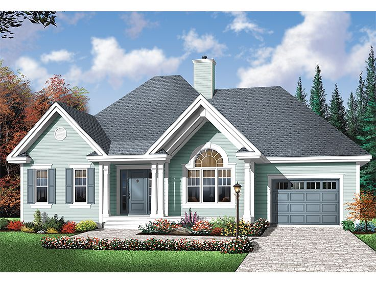 Affordable House Plan, 027H-0182