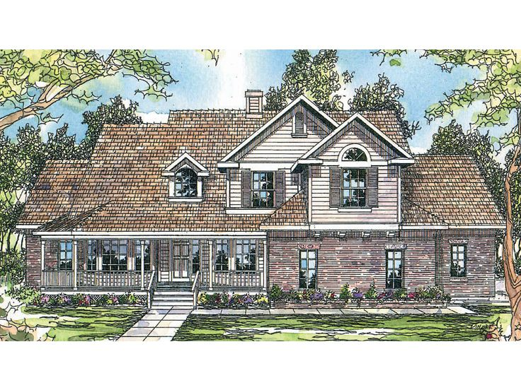 Two-Story Home Plan, 051H-0025