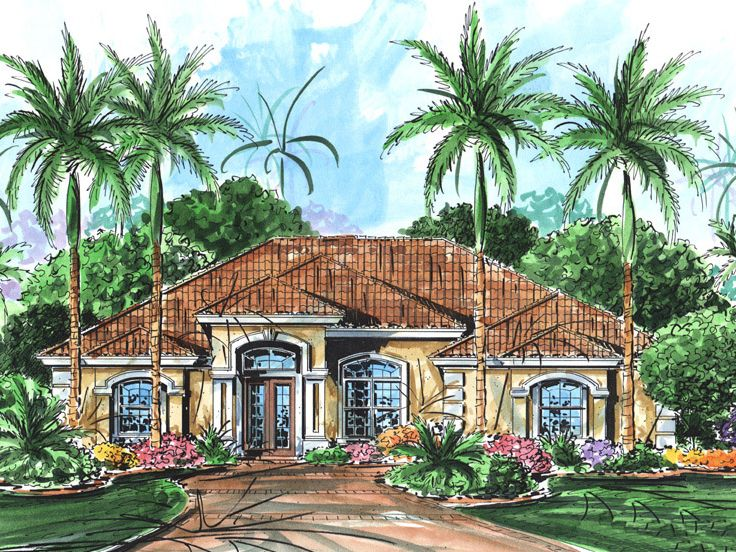 177299430053b3fcfd3abf6 Large Single Story House Plans Florida Lania on