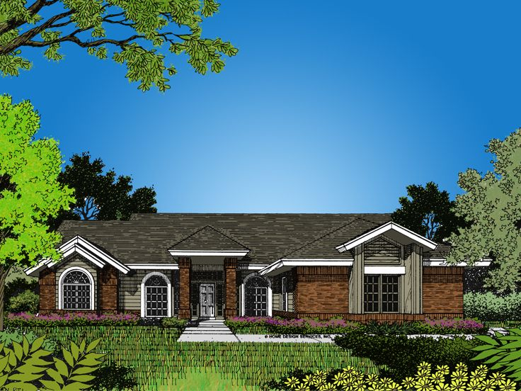 1-Story House Plan, 043H-0045