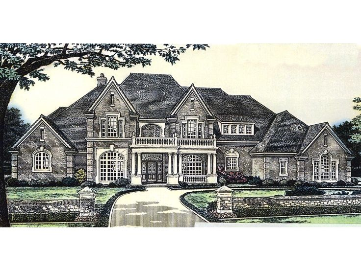 Two-Story Home Plan, 002H-0078