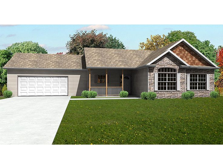 Ranch Home, 048H-0040