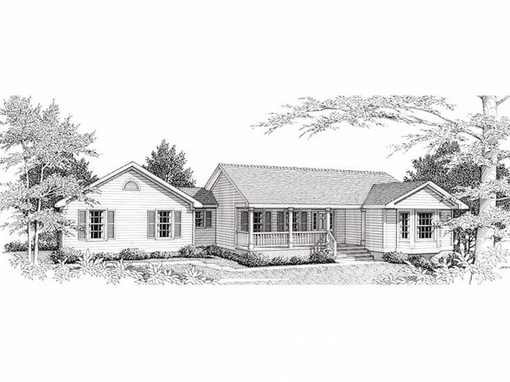 Country House Plan, 018H-0003