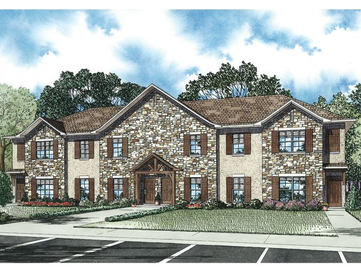 4-Unit Multi-Family Plan, 025M-0091