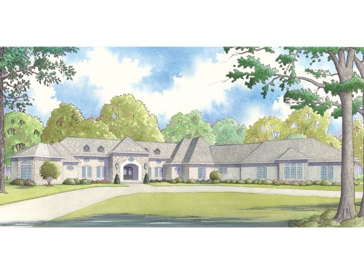 Ranch House Plan, 074H-0041